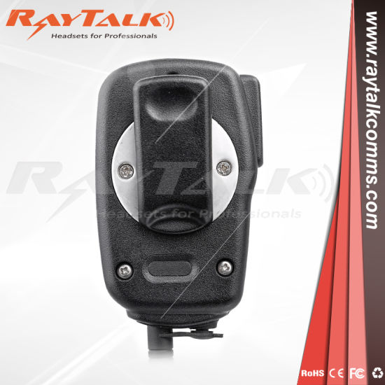 Icom HM-158LA Compact Speaker Mic w// Alligator Clip