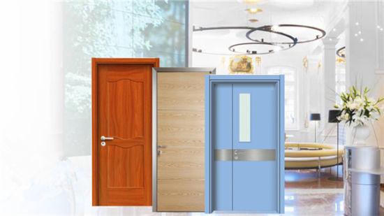 China Waterproof Laminated HPL School Door with Fireproof Gl ... on