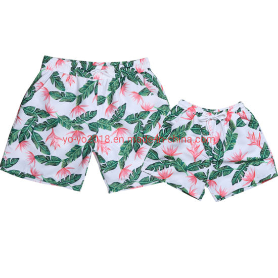 Colorful Mens Beachwear Daddy & Son Beach Pants pictures & photos