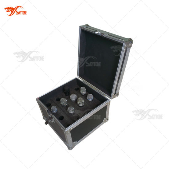 China Wire Microphone Portable Flight Case - China