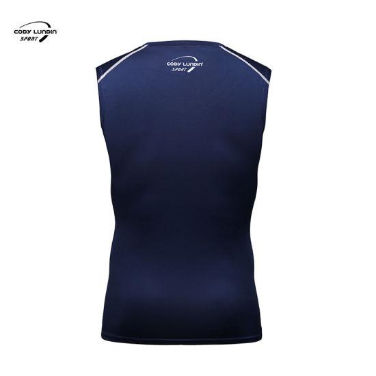 Cody Lundin Best Selling Sportswear Sleeveless Fitness Sport Running Bodybuilding Men's Tank Tops