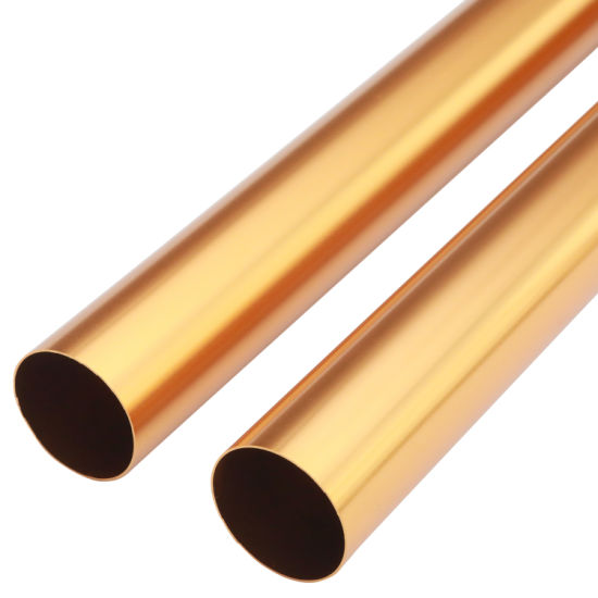 6061 T5 Color Anodized Aluminium Alloy Tubing Pipe pictures & photos