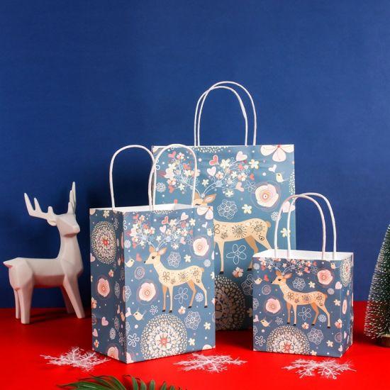 Customize Printing Fashion Gift Paper Packaking Bag