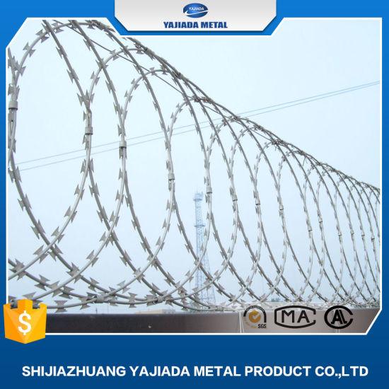 Razor Wire Cbt-65 Galvanized Razor Wire