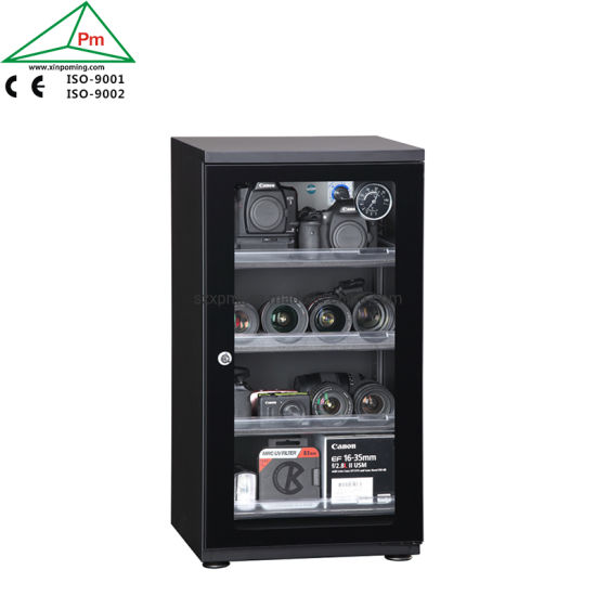90L 4 Drawers Dry and Safety Case Desiccator Cabinet for Equipment Storage