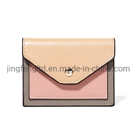 Fashion Wholesale Lady Mini Wallets PU Leather Money Bag Card Holder Coin Purse Wallet pictures & photos