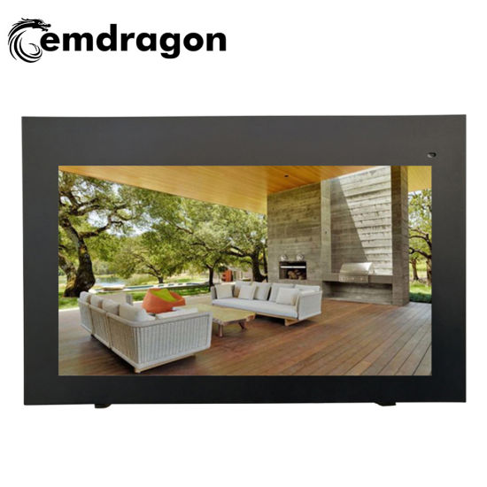 43 Inch Air-Cooled Horizontal Screen Wall Hanging Outdoor Advertising Machine Advertisement Display TV 3G WiFi Touch LCD Monitor Video Wall Screens