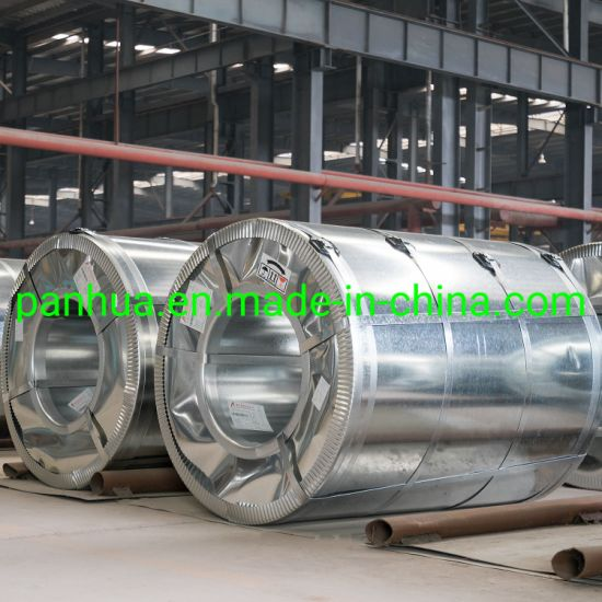 SGCC Galvanized Steel Strip Coils, Zink Coated Cold Roll