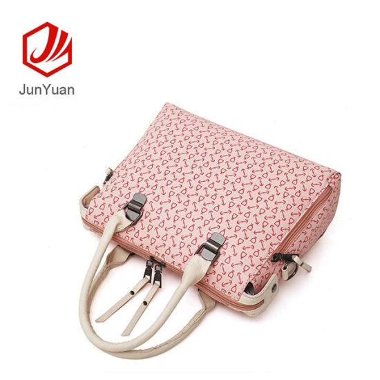 a6585a7534403 China PU Leather Lady Handbag Hand Bags 2019 Women 4 Pieces Handbags ...