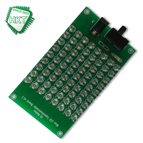 PCB Supplier HASL Lead Free Functional Testing 94V0 LED PCB Assembly PCB Board with CE ISO Certification