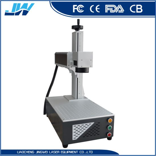 Fiber Laser Cutting Machine Raycus 50W / Jewellery Making Machinery