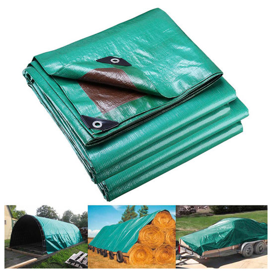 China 200g Waterproof Fabric Insulated Blue Tarpaulin Hay