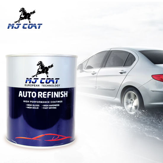 Manufacturer High Gloss Acrylic Polyurethane Heat Resistant Clear Coat