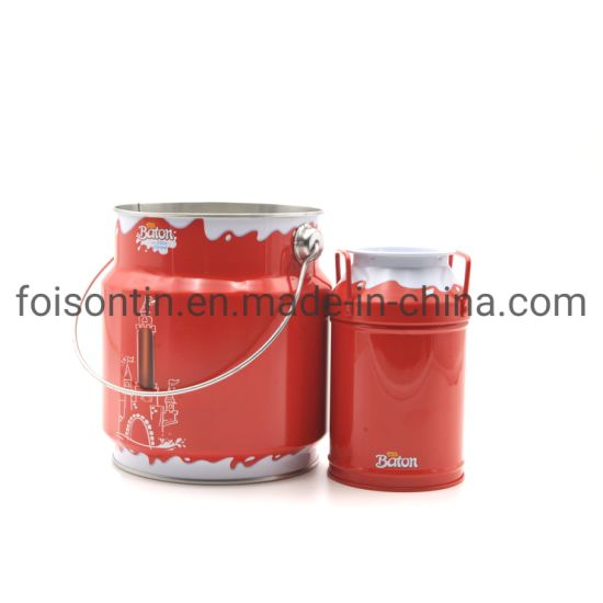 Custom Made Factory Directly Fancy Tin Can for Food Packages with Brc Certificate