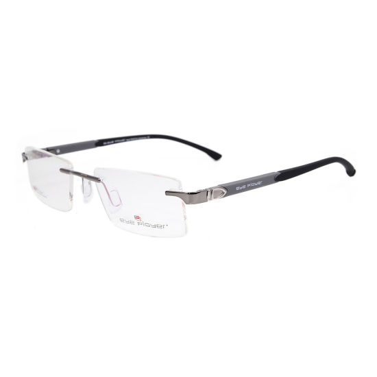 9b7c9206aa 2019 New Design Tr90 Rimless Factory Custom Eyeglasses Metal Eyewear  Optical Frames for Men