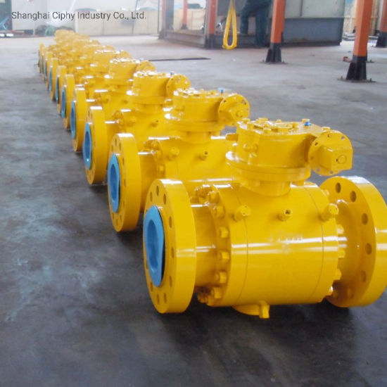Forged Steel 3-PC Trunnion Double Block and Bleed Ball Valve Class900/Class1500 pictures & photos
