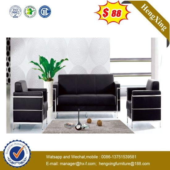 Astounding China Fashion Furniture Black Leather Club Office Sofa Sets Interior Design Ideas Gentotryabchikinfo