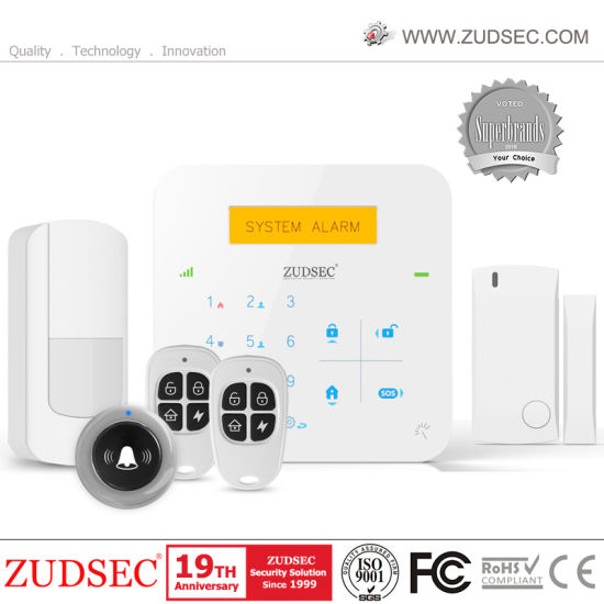 2020 Newest Home Alarm System with WiFi+GSM Network