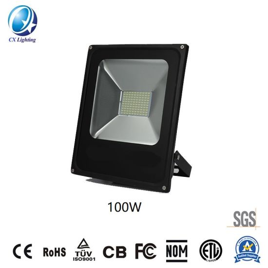 Lighting Source LED Floodlight SMD 100W High Lumen 8000lm Ce RoHS pictures & photos