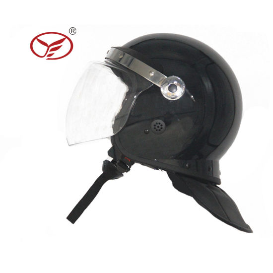 New Style Full Protection Police Anti Riot Helmet