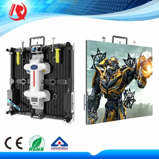 Indoor Rental Full Color P4.81 Die-Casting LED Display Screen Panel Board