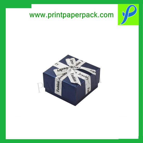 Custom Kraft / Art Paper Gift Packaging Jewellery Box with Logo Printing pictures & photos
