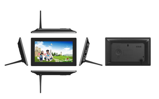 OEM USB SD Card LCD Video Advertising Player 16: 9 Large Size 10 Inch WiFi Digital Photo Picture Frame pictures & photos
