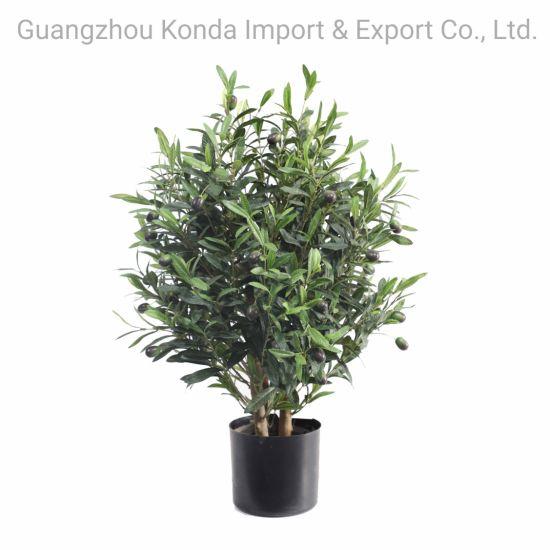 Wholesale Plastic Pot Decorative Artificial Plants Trees Bonsai