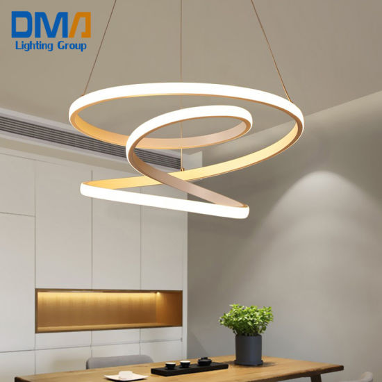 220V Modern LED Pendant Chandelier Lights Lamp for Dining Room Living Room