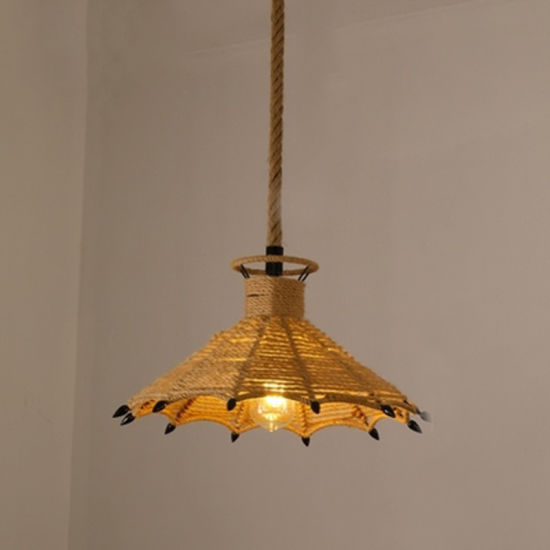 Chandelier with E27 with Rope for Indoor Decoration