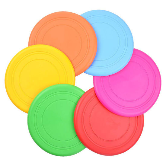Fashion Pet Puzzle Toy with Multicolor Flying Discs Training Dog Pet Toy Wholesale