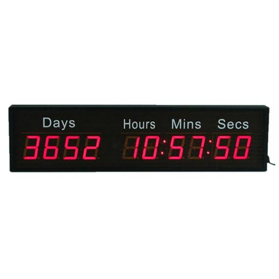 2.3 Inch Red 10 Digit LED Digital Countdown Timer Clock