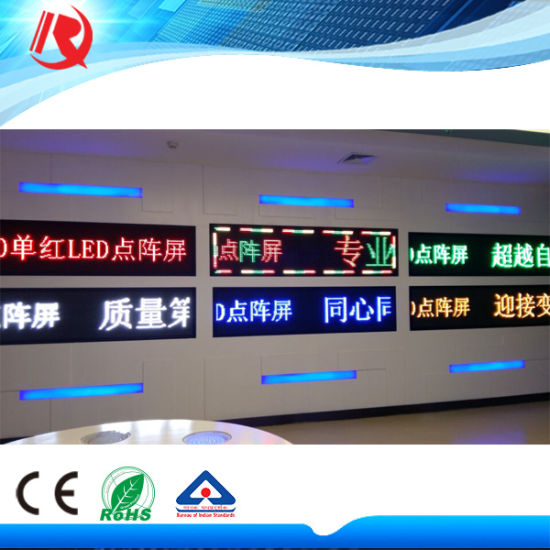 Single /Dual/ Full Color LED Board P10 Module LED Display 32 Outdoor Advertising Display