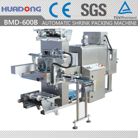 Automatic Multi-Row Sleeve Sealing and Shrinking Wrapping Machine