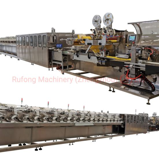 Ce Certified China Automatic High Speed Baby Wet Wipes Machine