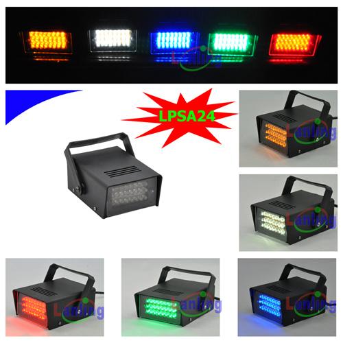Mini LED Strobe Light with 24 White LEDs