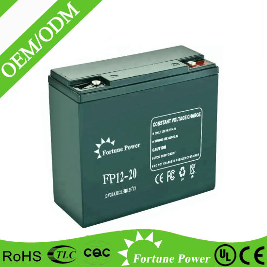 Factory Cheap UPS Battery Sealed Lead Acid Battery 12V 20ah pictures & photos