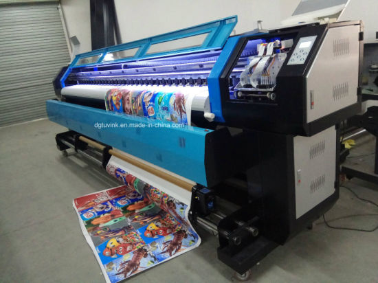 China 3200mm 3d Wallpaper Digital Inkjet Eco Solvent Printer China