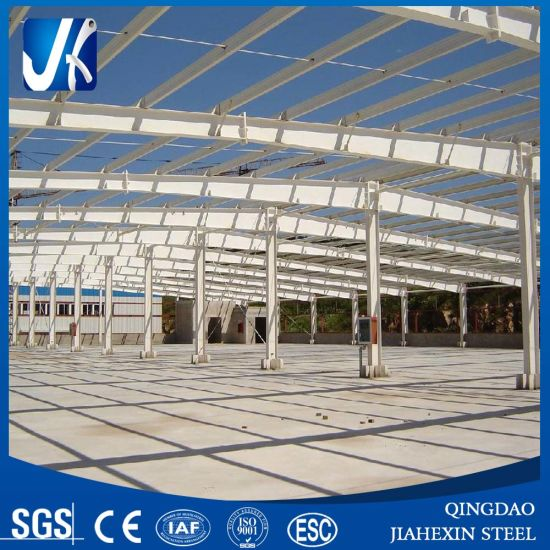 Light Prefabricated Design High Rise Steel Structure Building pictures & photos