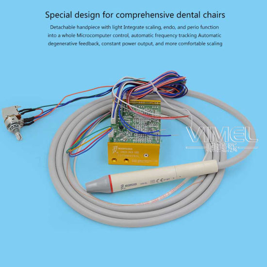 Dental Equipment Woodpecker Ultrasonic Piezo Built-in Scaler Uds-N3 LED pictures & photos
