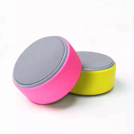 Round Shape Mini Wireless Portable Bluetooth Speaker for Mobile pictures & photos