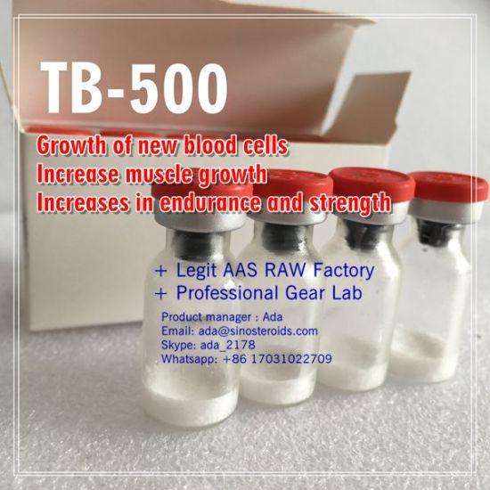 China Lyophilized Powder Peptides Thymosin Tb500 for Bodybuilding