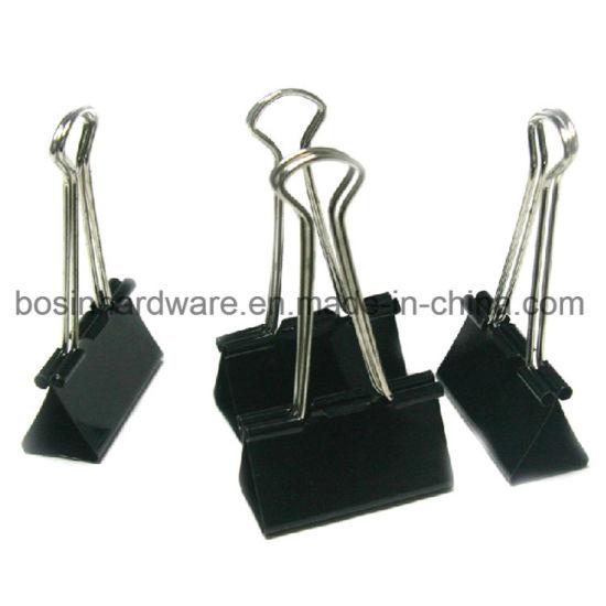 China 32mm Black Metal Wire Binder Clips - China Binder Clip, Metal ...