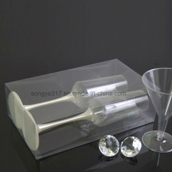 PVC Clear Red Wine Glass Glass Blister Box pictures & photos