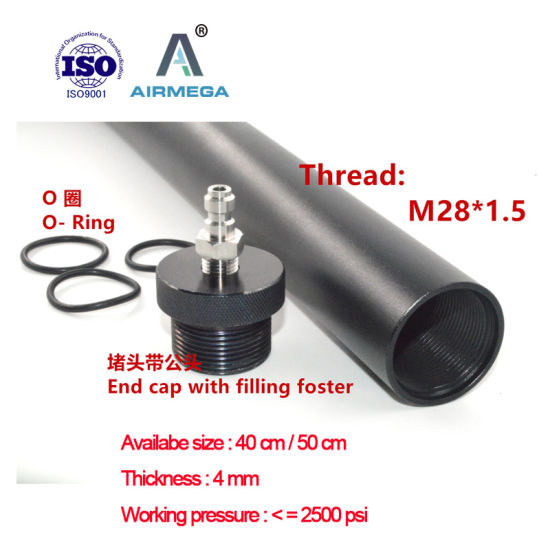 China Anodized Aluminum Pipe Pcp Airgun Barrel Air Tube for