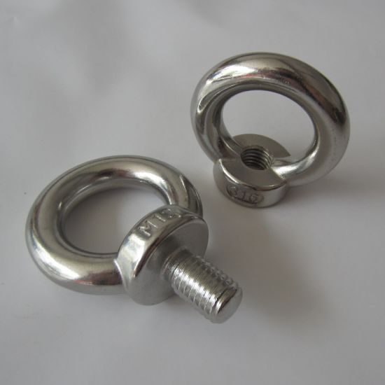 Stainless Steel DIN580 Eye Bolt pictures & photos