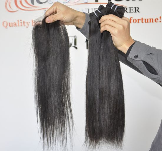 Unprocessed Hair Products Malaysian Virgin Hair Straight 100% Human Hair Weaves Wavy Grade 9A pictures & photos