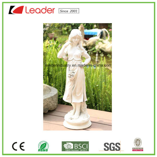 Large Resin Peaceful Angel Garden Sculpture Statue for Lawn and Garden Decoration pictures & photos