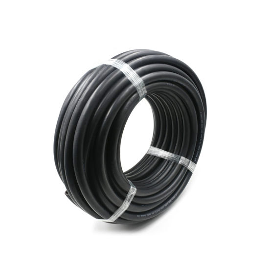 Yute DOT Smooth Black Rubber Air Brake Hose with Fittings