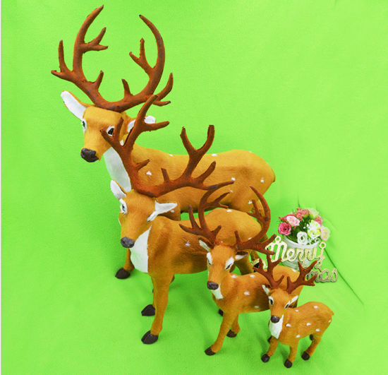 OEM Christmas Reindeer Decoration and Craft for Promotional Gift pictures & photos